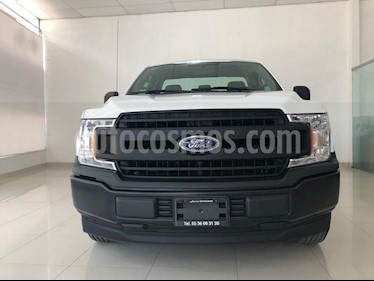 Ford F-150 XL 4x2 3.7L Cabina Regular usado (2018) color Blanco Oxford precio $452,000