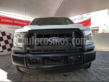 Foto venta Auto usado Ford F-150 XL 4x2 3.7L Doble Cabina (2016) color Blanco Oxford precio $349,000