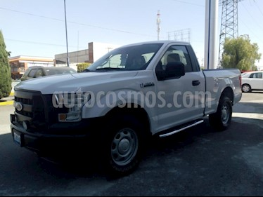 Foto venta Auto usado Ford F-150 XL 4x4 3.7L Cabina Regular (2017) color Blanco precio $465,000