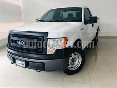Foto venta Auto usado Ford F-150 XL 4x4 3.7L Cabina Regular (2014) color Blanco precio $232,500