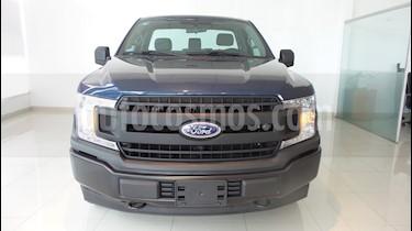 Foto venta Auto usado Ford F-150 XL 4x4 5.0L Cabina Regular (2018) color Azul Metro precio $494,000