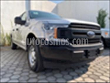 Ford F-150 XL CREW CAB 4X2 3.5L V6 usado (2018) color Plata precio $519,999