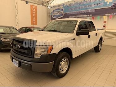 Foto venta Auto usado Ford F-150 XL Doble Cabina 4X2 V8 (2014) color Blanco precio $335,000