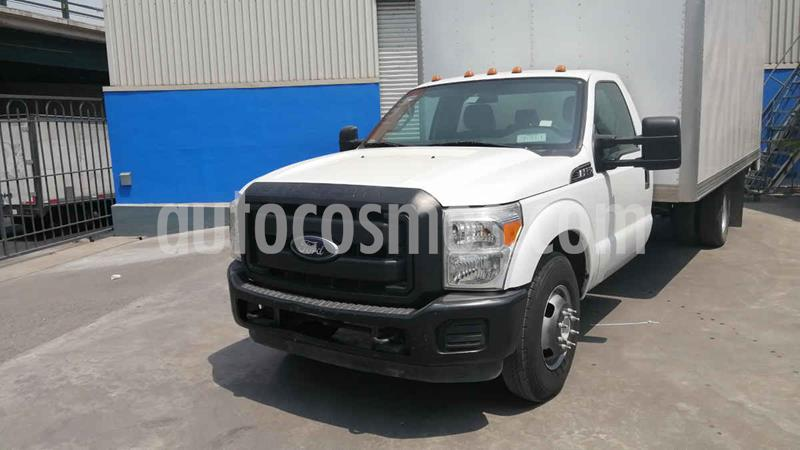 Ford F-350 XL 6.2L usado (2015) color Blanco precio $370,000