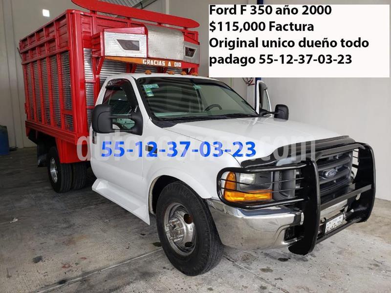Ford F-350 XL 6.2L Aut Ac usado (2000) color Blanco precio $115,000