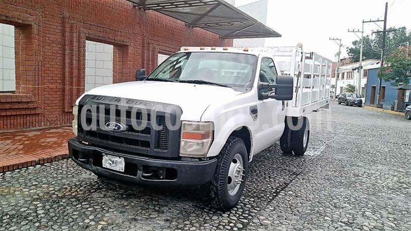 Ford F-350 XL 5.4L Super Duty Aa usado (2009) color Blanco precio $235,000
