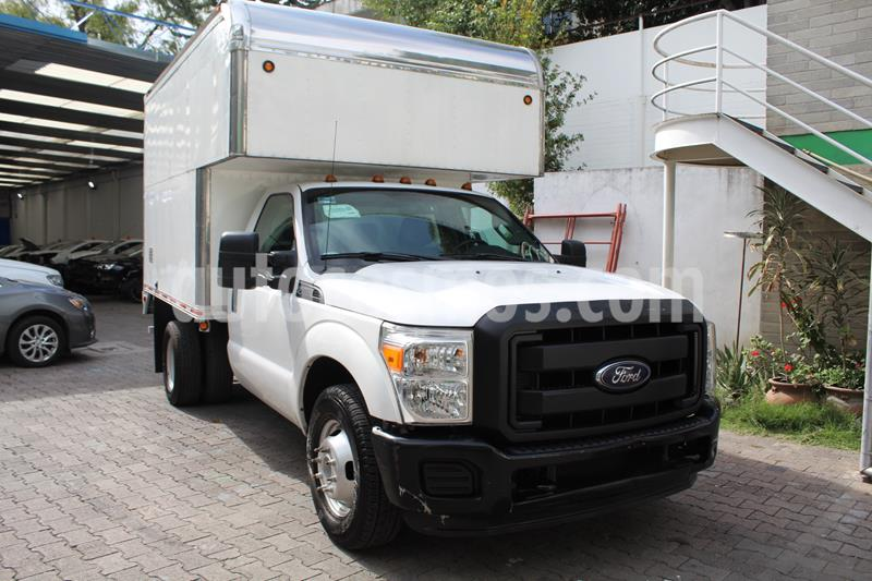 Ford F-350 XL 5.4L Super Duty Aut usado (2016) color Blanco precio $459,000