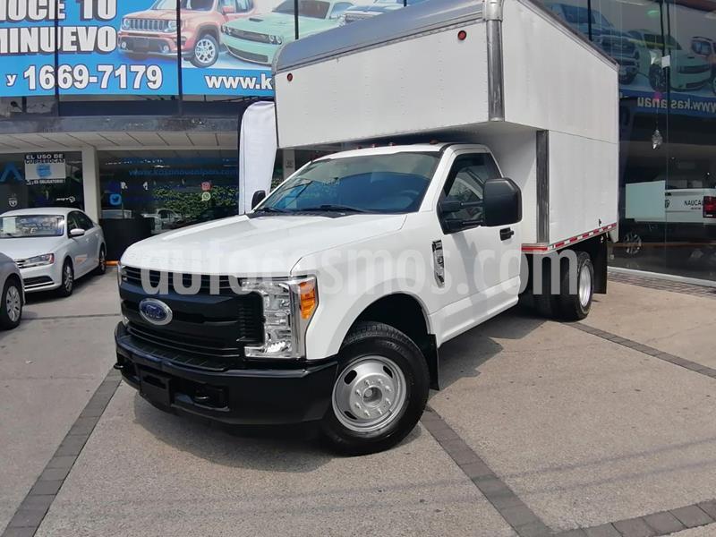 Ford F-350 XL 6.2L Plus usado (2017) color Blanco precio $500,000