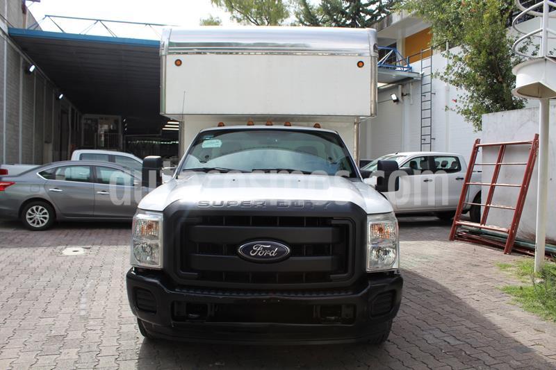 Ford F-350 XL 5.4L Super Duty Aa usado (2016) color Blanco Oxford precio $459,000