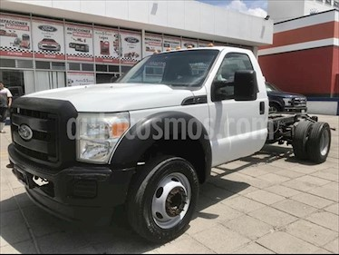 Ford F-450 XL 6.8L Super Duty Aut usado (2011) color Blanco precio $249,000