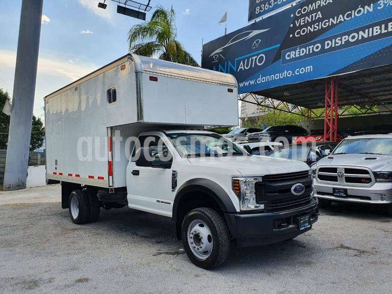 Ford F-450 6.7L Diesel Aut usado (2018) color Blanco precio $769,000