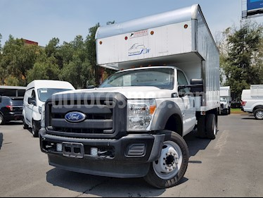 Ford F-550 XL 6.4L Diesel Aa usado (2015) color Blanco Oxford precio $519,900