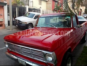 Ford F100 V8 Aut usado (1968) color Rojo precio $198,000