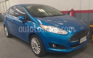 Foto Ford Fiesta Hatchback 4p Titanium L4/1.6 Aut usado (2015) color Azul precio $159,000
