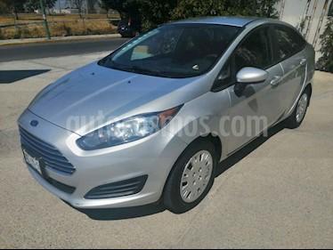 Ford Fiesta Hatchback S usado (2015) color Plata precio $117,000