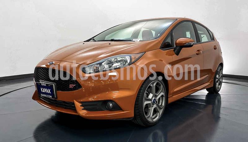 Ford Fiesta Hatchback ST usado (2018) color Naranja precio $317,999