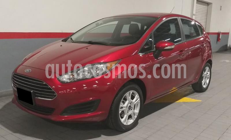 Ford Fiesta Hatchback SE usado (2016) color Rojo precio $149,000
