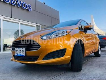 Ford Fiesta Hatchback SE  usado (2016) color Naranja precio $149,000