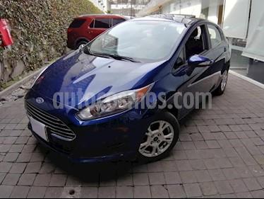 Foto Ford Fiesta Hatchback 5p SE HB L4/1.6 Aut usado (2016) color Azul Marino precio $150,000