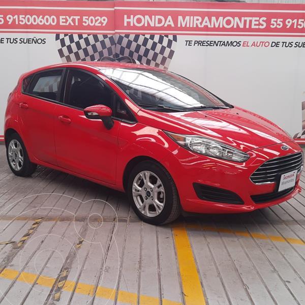 Foto Ford Fiesta Hatchback SE Aut usado (2014) color Rojo Granate financiado en mensualidades(enganche $60,000 mensualidades desde $4,641)