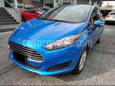 Ford Fiesta Hatchback 4P SE TM5 A/AC. BA RA-15 usado (2015) color Azul precio $145,000