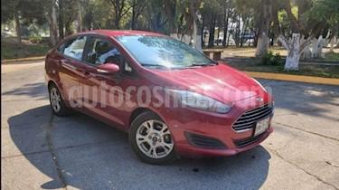Ford Fiesta Hatchback 4P SE AT A/AC. BA RA-15 usado (2016) color Rojo precio $163,000