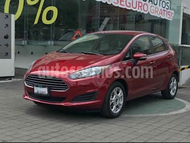 Ford Fiesta Hatchback S usado (2017) color Rojo precio $179,000