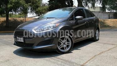 Ford Fiesta Hatchback 4P SE TM5 A/AC. BA RA-15 usado (2018) color Gris precio $205,000
