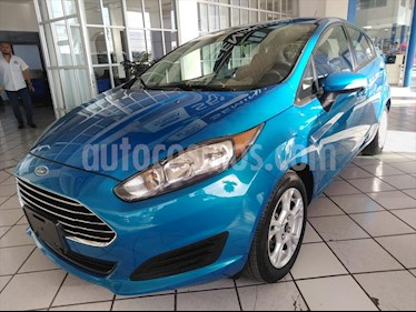 Ford Fiesta Hatchback SE Aut usado (2014) color Azul Electrico precio $128,000