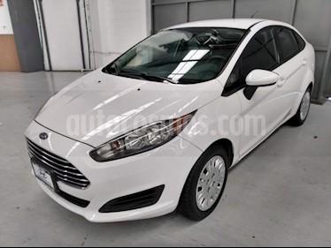 Foto Ford Fiesta Hatchback 4p S L4/1.6 Aut usado (2014) color Blanco precio $130,000