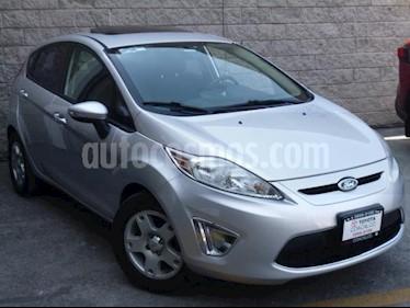 Ford Fiesta Hatchback 4P SE L4/1.6 AUT usado (2012) color Plata precio $110,000