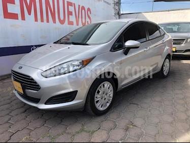 Ford Fiesta Hatchback 4P S L4/1.6 AUT usado (2015) color Plata precio $158,000