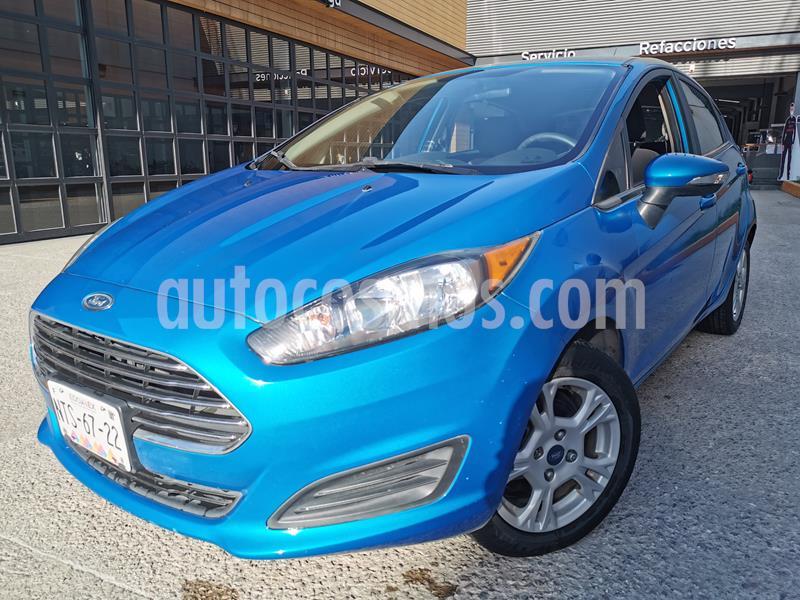 Ford Fiesta Hatchback SE  Aut usado (2015) color Azul Brillante precio $130,000