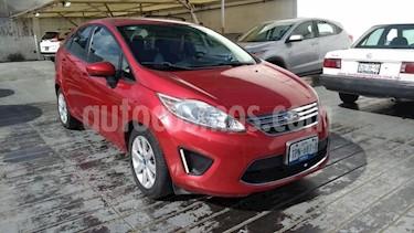 Foto Ford Fiesta Hatchback 4p SE L4/1.6 Aut usado (2012) color Rojo precio $95,000