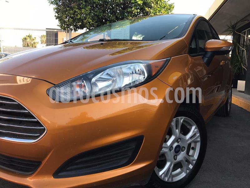 Ford Fiesta Hatchback SE usado (2016) color Bronce precio $157,000
