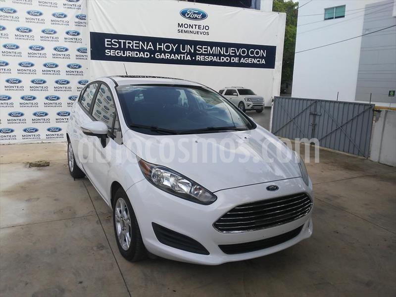 Ford Fiesta Hatchback SE  usado (2016) color Blanco precio $140,000