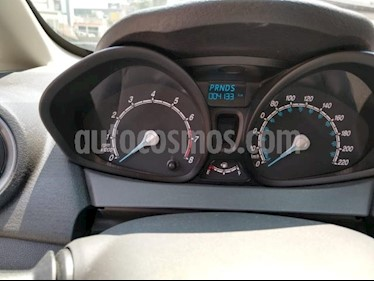 Ford Fiesta Hatchback 4P S AT A/AC. R-15 usado (2019) color Plata precio $219,000