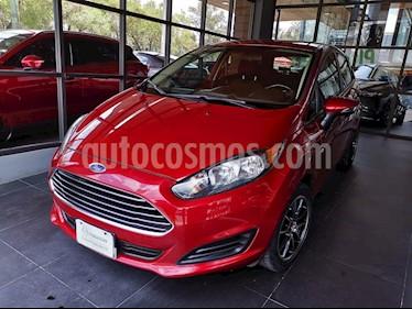 Foto venta Auto usado Ford Fiesta Hatchback SE  Aut (2014) color Rojo Rubi precio $124,000