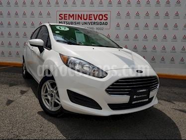 Foto venta Auto usado Ford Fiesta Hatchback SE  Aut (2017) color Blanco precio $195,000