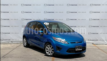 Foto venta Auto usado Ford Fiesta Hatchback SE  Aut (2013) color Azul Brillante precio $130,000