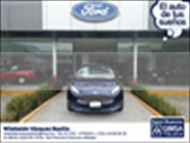 Foto venta Auto usado Ford Fiesta Hatchback SE  (2016) color Azul Electrico precio $165,000