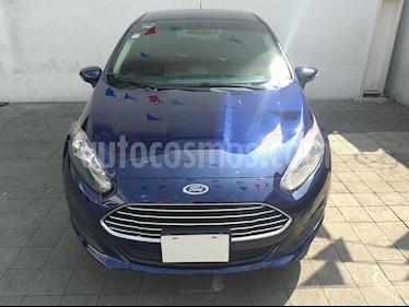 Foto venta Auto usado Ford Fiesta Hatchback SE (2016) color Azul Brillante precio $175,000