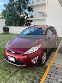 Foto venta Auto usado Ford Fiesta Hatchback SES (2013) color Rojo Rubi precio $123,000
