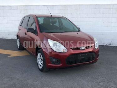 Ford Fiesta Ikon Hatch First 1.6L Ac usado (2014) color Vino Tinto precio $100,001