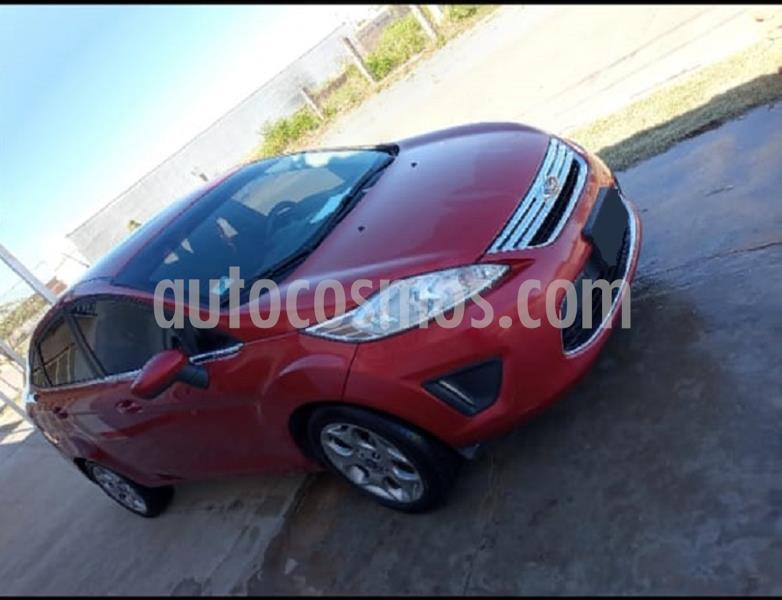 Ford Fiesta Kinetic Sedan Trend Plus usado (2012) color Rojo Granate precio $480.000