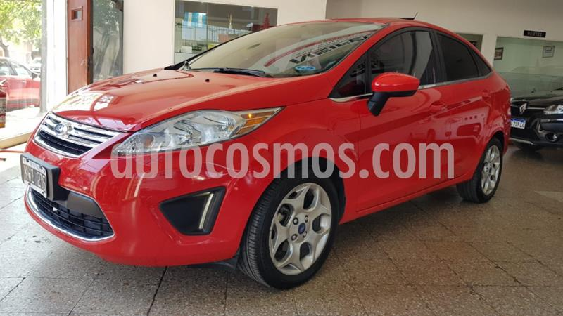 Ford Fiesta Kinetic Sedan Trend Plus usado (2012) color Rojo precio $880.000