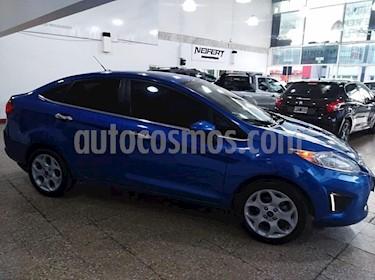 Ford Fiesta Kinetic Sedan Trend Plus usado (2011) color Azul Celeste precio $440.000