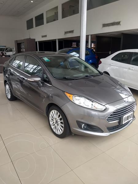 Foto Ford Fiesta Kinetic Sedan Titanium Aut usado (2014) color Gris Grafito precio $1.200.000