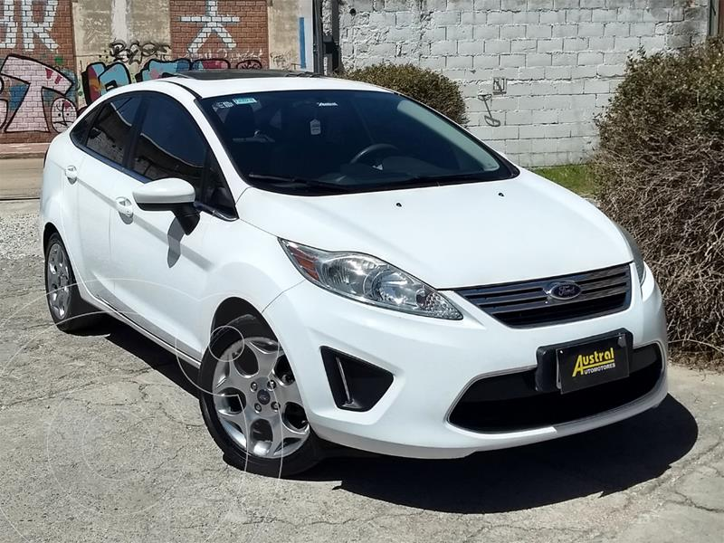 Ford Fiesta Kinetic Sedan Trend Plus usado (2012) color Blanco precio $550.000