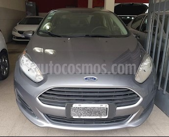 Foto venta Auto usado Ford Fiesta Kinetic Sedan S Plus (2014) color Gris Oscuro precio $300.000